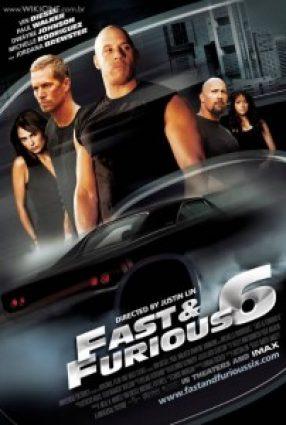 Cartaz do filme VELOZES E FURIOSOS 6 – Fast & Furious 6