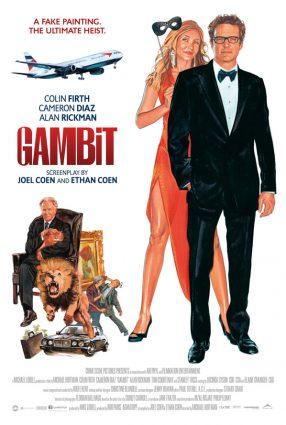 Cartaz do filme UM GOLPE PERFEITO – Gambit