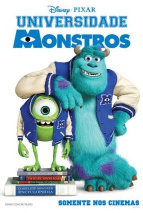 Cartaz do filme UNIVERSIDADE MONSTROS – Monsters University
