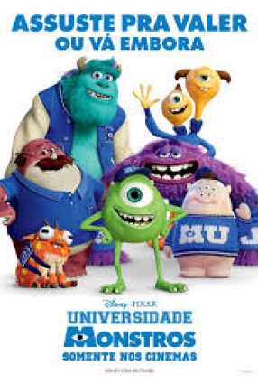 Cartaz do filme UNIVERSIDADE MONSTROS – Monsters University