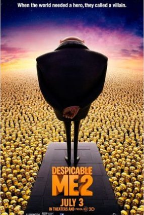 Cartaz do filme MEU MALVADO FAVORITO 2 – Despicable Me 2