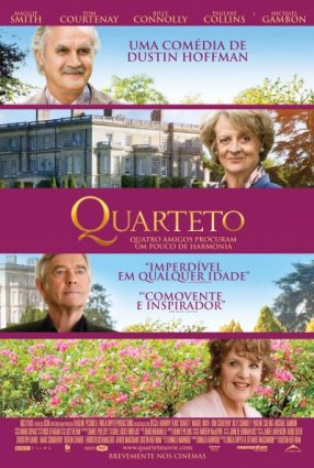 Cartaz do filme O QUARTETO – Quartet