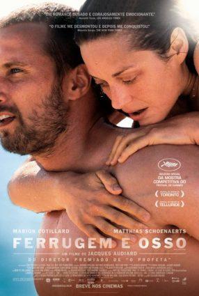 Cartaz do filme FERRUGEM E OSSO – De Rouille et D'os