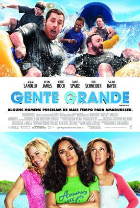 Cartaz do filme GENTE GRANDE 2 – Grown Ups 2