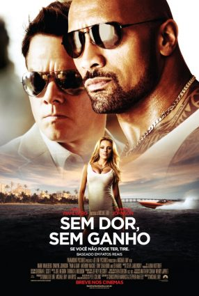 Cartaz do filme SEM DOR, SEM GANHO – Pain & Gain