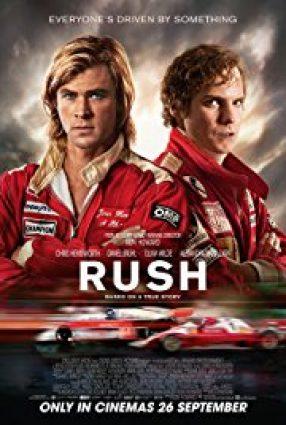 Cartaz do filme RUSH – NO LIMITE DA EMOÇÃO  – Rush