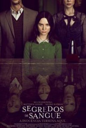 Cartaz do filme SEGREDOS DE SANGUE – Stoker