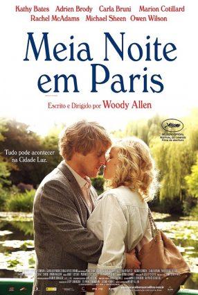 Cartaz do filme MEIA-NOITE EM PARIS – Midnight in Paris