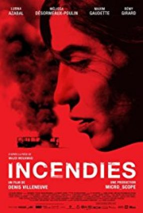 Cartaz do filme INCÊNDIOS – Incendies