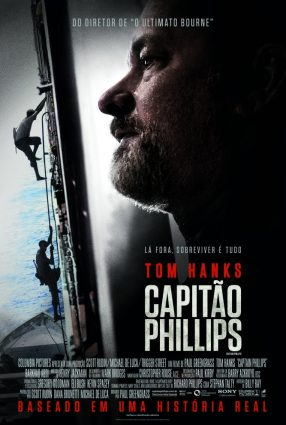 Cartaz do filme CAPITÃO PHILLIPS – Captain Phillips