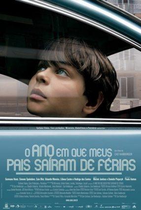 Cartaz do filme O ANO EM QUE MEUS PAIS SAÍRAM DE FÉRIAS