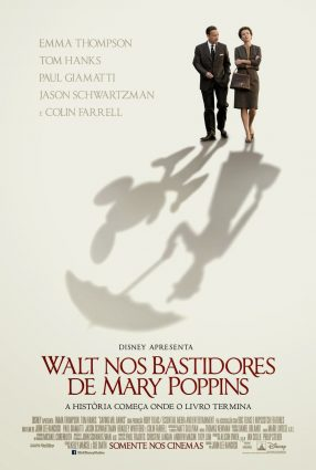 Cartaz do filme WALT NOS BASTIDORES DE MARY POPPINS – Saving Mr. Banks