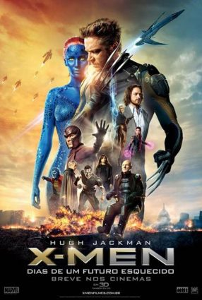Cartaz do filme X-MEN: DIAS DE UM FUTURO ESQUECIDO – X-Men: Days of Future Past