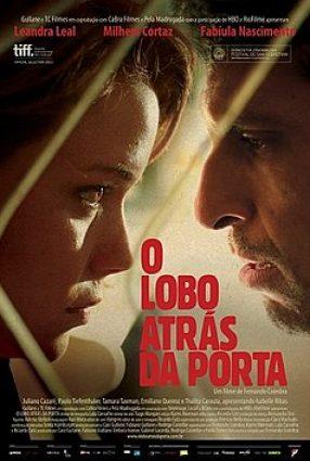 Cartaz do filme O LOBO ATRÁS DA PORTA