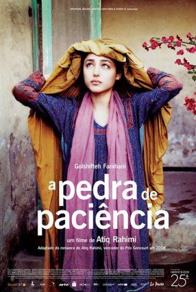 Cartaz do filme A PEDRA DE PACIÊNCIA – Pierre de Pacience