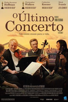Cartaz do filme O ÚLTIMO CONCERTO – The Late Quartet