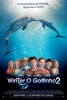 Cartaz do filme WINTER, O GOLFINHO 2 – Dolphin Tale 2