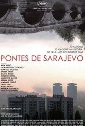 Cartaz do filme AS PONTES DE SARAJEVO – Les Ponts de Sarajevo