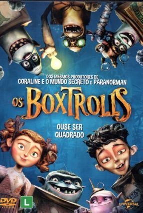 Cartaz do filme OS BOXTROLLS – The Boxtrolls