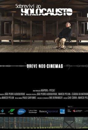 Cartaz do filme SOBREVIVI AO HOLOCAUSTO