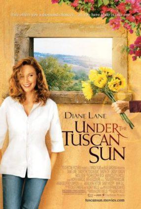 Cartaz do filme SOB O SOL DA TOSCANA – Under the Tuscan Sun