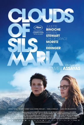 Cartaz do filme ACIMA DAS NUVENS – Clouds of Sils Maria
