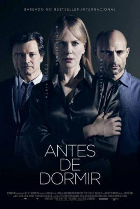 Cartaz do filme ANTES DE DORMIR – Before I Go to Sleep
