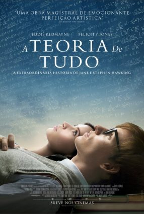 Cartaz do filme A TEORIA DE TUDO – The Theory of Everything