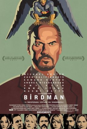 Cartaz do filme BIRDMAN OU (A INESPERADA VIRTUDE DA IGNORÂNCIA) – Birdman