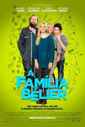 Cartaz do filme A FAMÍLIA BÉLIER – La Famille Bélier