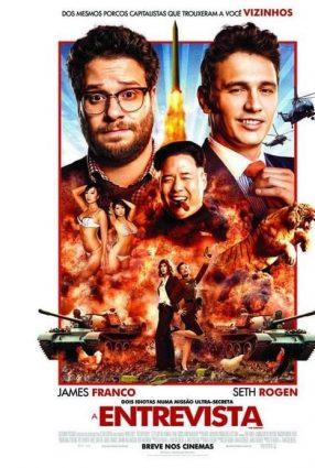 Cartaz do filme A ENTREVISTA – The Enterview