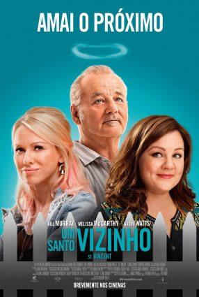 Cartaz do filme UM SANTO VIZINHO – St Vincent