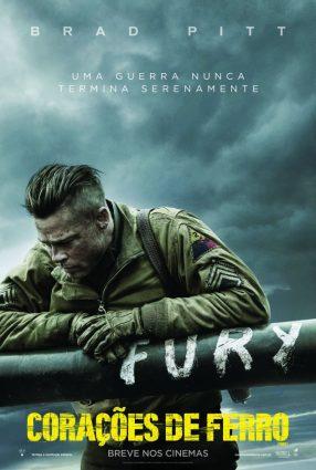 Cartaz do filme CORAÇÕES DE FERRO – Fury