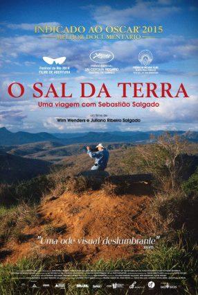 Cartaz do filme O SAL DA TERRA – Le Sel de la Terre