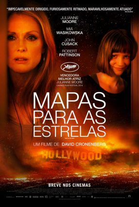 Cartaz do filme MAPA PARA AS ESTRELAS – Maps to the Stars