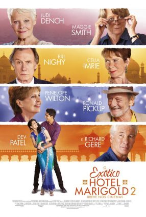 Cartaz do filme O EXÓTICO HOTEL MARIGOLD 2 – The Best Exotic Marigold Hotel 2