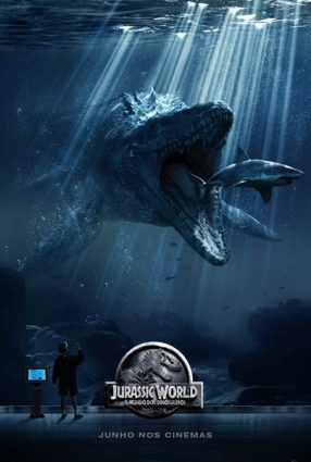 Cartaz do filme JURASSIC WORLD – O MUNDO DOS DINOSSAUROS – Jurassic World