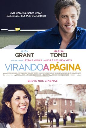 Cartaz do filme VIRANDO A PÁGINA – The Rewrite