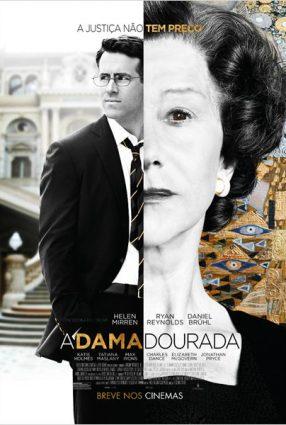 Cartaz do filme A DAMA DOURADA – Woman in Gold