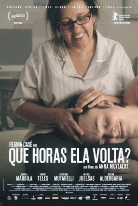 Cartaz do filme QUE HORAS ELA VOLTA?