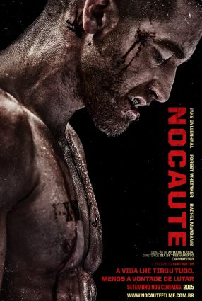 Cartaz do filme NOCAUTE – Southpaw