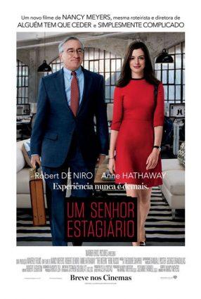 Cartaz do filme UM SENHOR ESTAGIÁRIO – The Intern