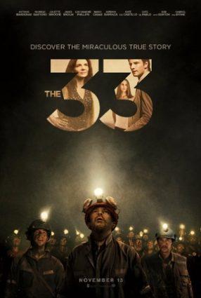 Cartaz do filme OS 33 – The 33