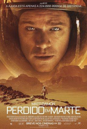 Cartaz do filme PERDIDO EM MARTE – The Martian