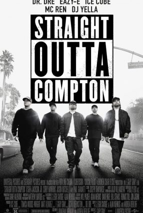 Cartaz do filme STRAIGHT OUTTA COMPTON – A HISTÓRIA DO N.W.A.