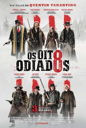 Cartaz do filme OS OITO ODIADOS – The Hateful Eight