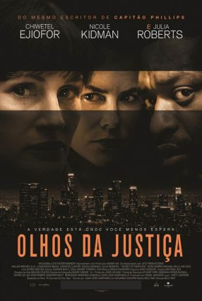 Cartaz do filme OLHOS DA JUSTIÇA – Secret in Their Eyes