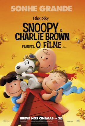 Cartaz do filme SNOOPY & CHARLIE BROWN: PEANUTS, O FILME – THE PEANUTS MOVIE