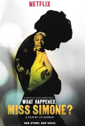 Cartaz do filme WHAT HAPPENED, MISS SIMONE?