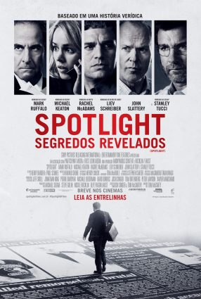 Cartaz do filme SPOTLIGHT – SEGREDOS REVELADOS